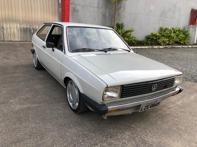 Vendo Gol BX 1985 Dupla carburação turbo - Foto 3