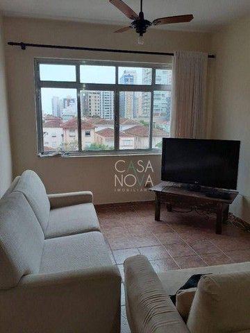 Apartamento com 2 dormitórios à venda, 90 m² por R$ 430.000,00 - Embaré - Santos/SP - Foto 6