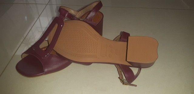 Sandália em couro n. 35 - Foto 4