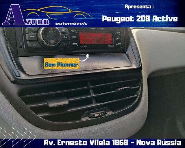 PEUGEOT 208 ACTIV COMPLETO 1.5 FLEX REVISADO GARANTIA BAIXA KM IMPECÁVEL   - Foto 10