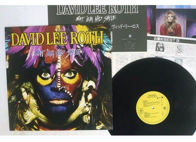 David Lee Roth - Eat?em and Smile - LP Vinil - Importado