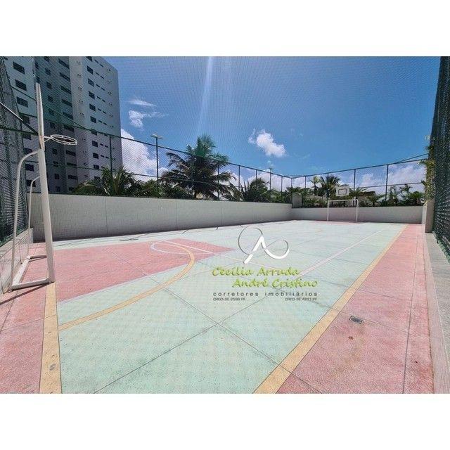 apartamento 4/4 suítes, varanda gourmet, vista livre permanente, Jardins, Aracaju/SE - Foto 14