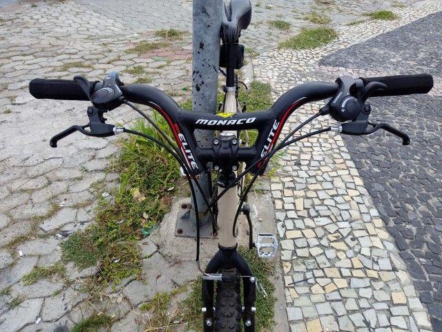 Bicicleta 21v alumínio ZERO BALA! - Foto 3