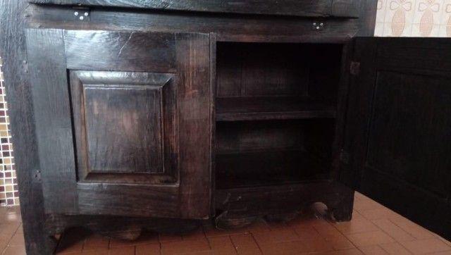 Móvel de madeira maciça de demolição, Colonial Mineiro Usado - Foto 2