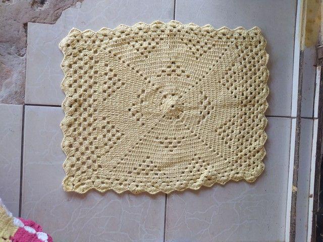 Tapete de crochê  - Foto 5