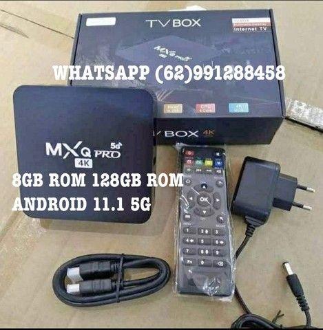 TV BOX MXQ PRO 4K 5G 8/128Gigas NOVO