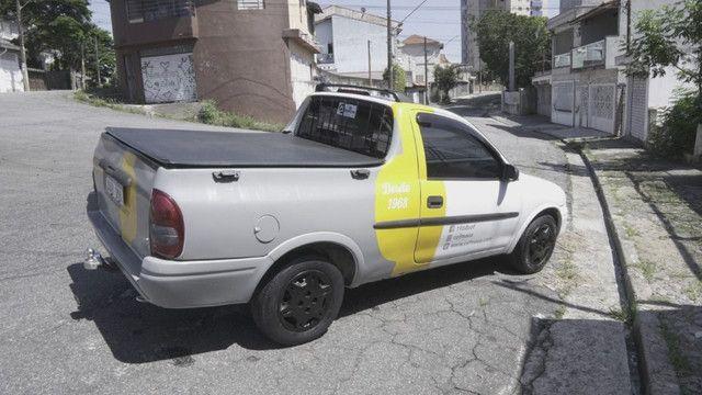 Pick up corsa 2002 aceito troca - Foto 2
