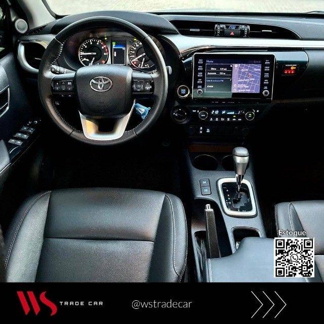 Hilux CD Srv 2021 Diesel 4x4 automática. Blindada  - Foto 6