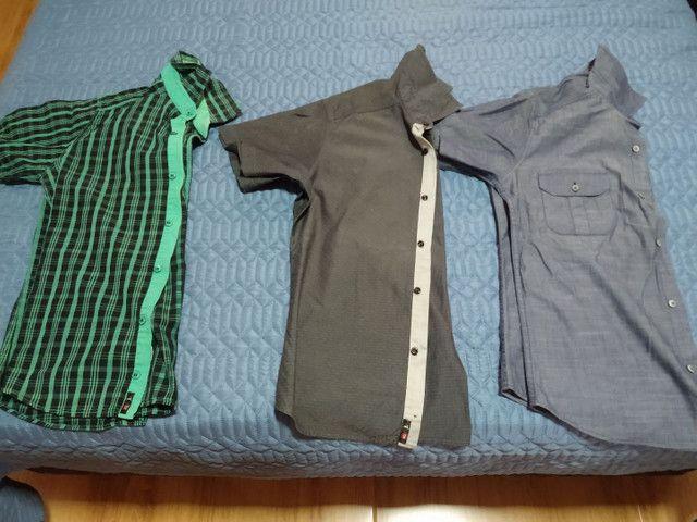 Camisas tamanho P