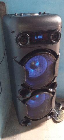 Caixa de som Multilaser Mini torre