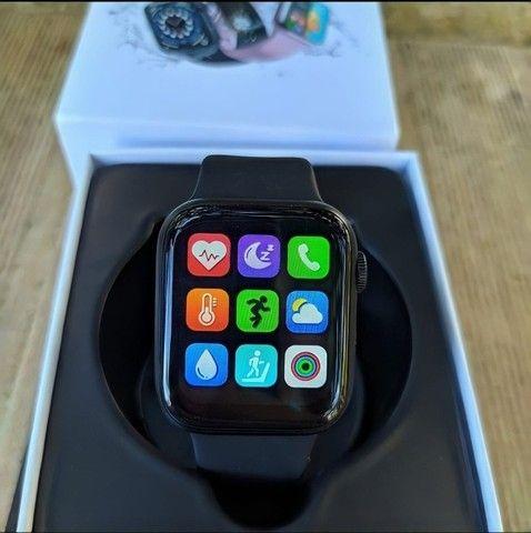 Smartwatch Iwo Hw12 Azul Original Foto Tela E Faz Ligações - Foto 4
