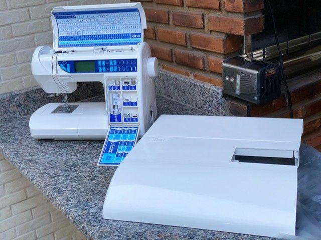 Máquina de costura Doméstica com pontos decorativos   - Foto 2
