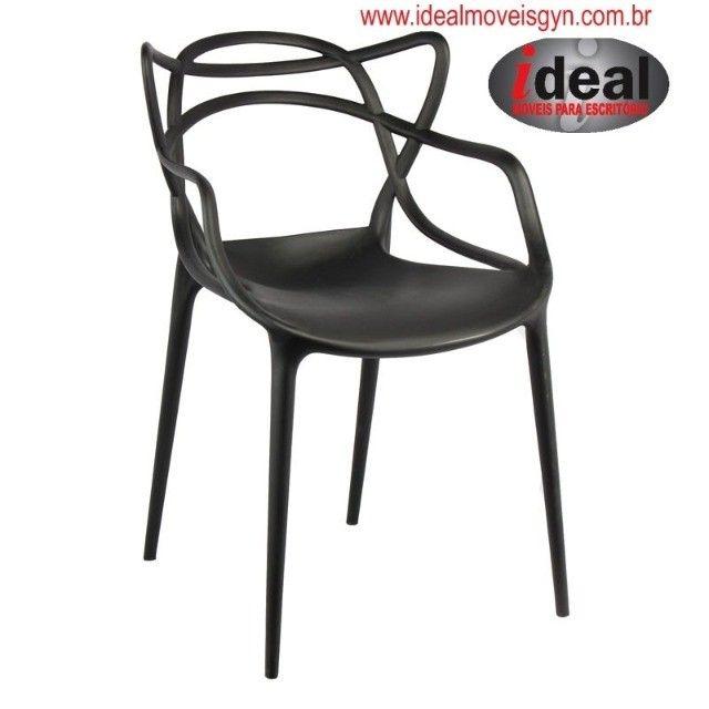 Cadeira  Deccor  Allegra Ideal Móveis Goiânia ? Escritórios - Foto 2