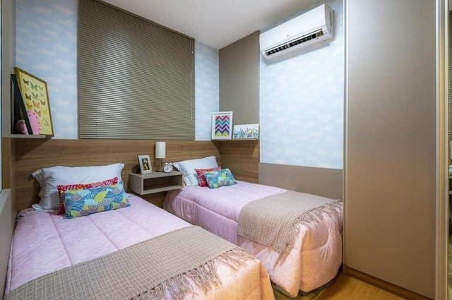 Porto Santiago MRV 2 dormitórios sacada com churrasqueira Protásio Alves - Foto 2
