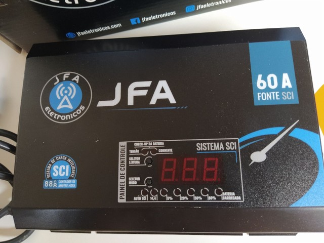 Fonte Automotiva JFA 60A ( NOVA ) - Foto 3
