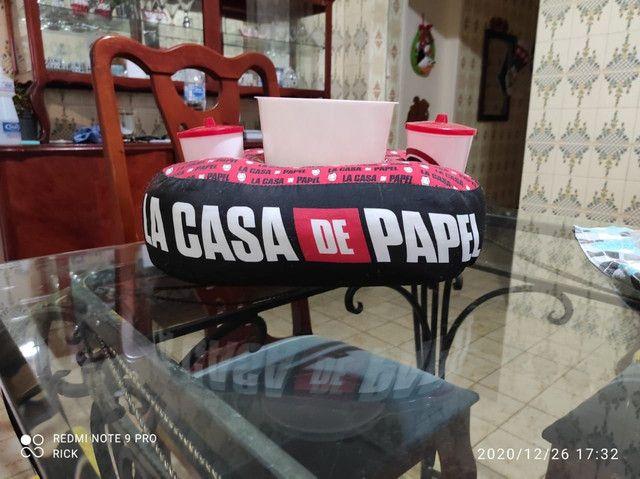 Almofada de pipoca da série La Casa de Papel - Foto 3