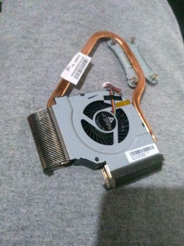 Cooler+dicipador notebook lg s43 (s460) - Foto 2
