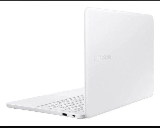 """Notebook Samsung Essentials E20 branca 15.6"""" - Foto 4"""