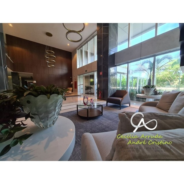 apartamento 4/4 suítes, varanda gourmet, vista livre permanente, Jardins, Aracaju/SE - Foto 5