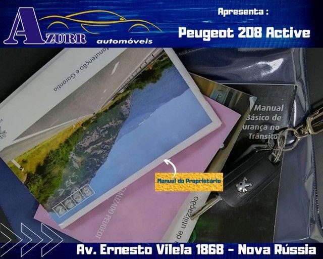 PEUGEOT 208 ACTIV COMPLETO 1.5 FLEX REVISADO GARANTIA BAIXA KM IMPECÁVEL   - Foto 18