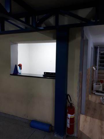 Lanchonete interior da academia