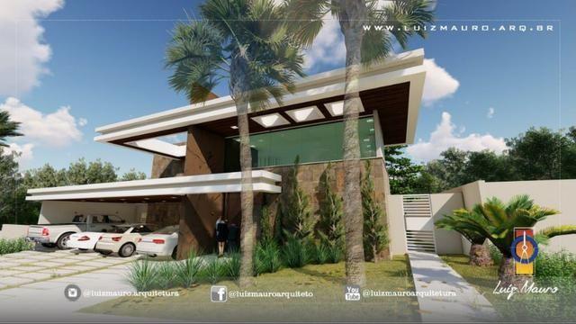 Condomínio Florais dos Lagos, casa Sobrado com 4 suites, em fase de construção - Foto 3