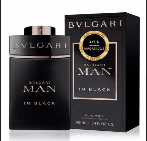 5 x R$: 59,80 Perfume Bvlgari Men In Black EDP 100ml
