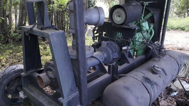 Motor bomba para irrigação