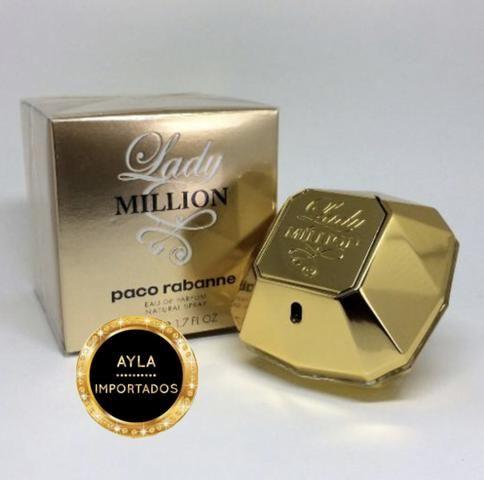 5 x R$: 69,80 Perfume Paco Rabanne Lady Million EDP 80ml
