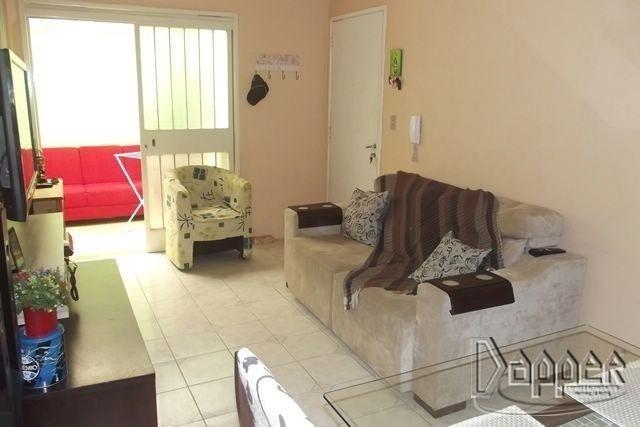Apartamento à venda com 1 dormitórios em Ouro branco, Novo hamburgo cod:10910