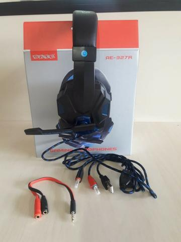 Fone De Ouvido Satellite Gamer Headset P2 XboxOne Ps4 Smartphone Pc