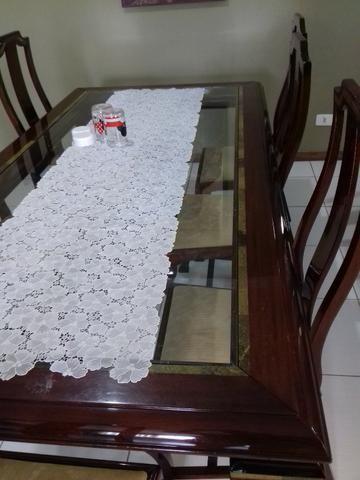 Mesa de jantar com 8 cadeira - Foto 5
