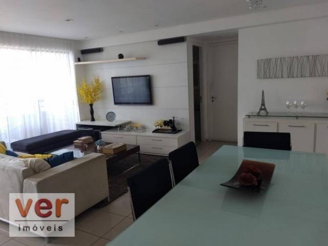 Apartamento com 3 dormitórios à venda, 137 m² por R$ 850.000,00 - Cocó - Fortaleza/CE - Foto 15