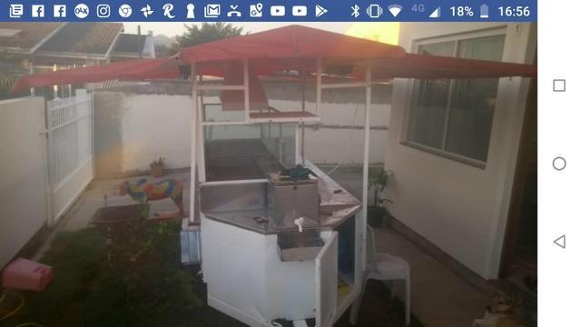 Barbada 7.000 por 4.400 vendo trailer de hot dog wsts - Foto 2
