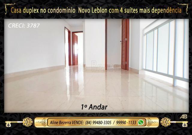 Duplex com 5 suítes no condomínio Novo Leblon, confira - Foto 9
