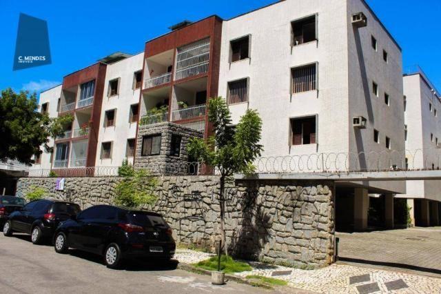 Apartamento com 3 dormitórios para alugar, 100 m² por R$ 1.600/mês - Papicu - Fortaleza/CE - Foto 2