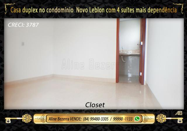 Duplex com 5 suítes no condomínio Novo Leblon, confira - Foto 8