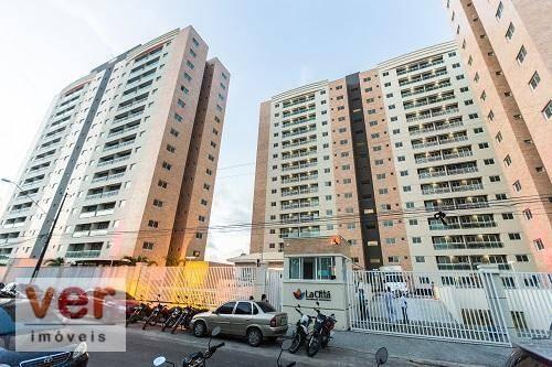 Apartamento com 3 dormitórios à venda, 62 m² por R$ 259.000,00 - Parangaba - Fortaleza/CE - Foto 4