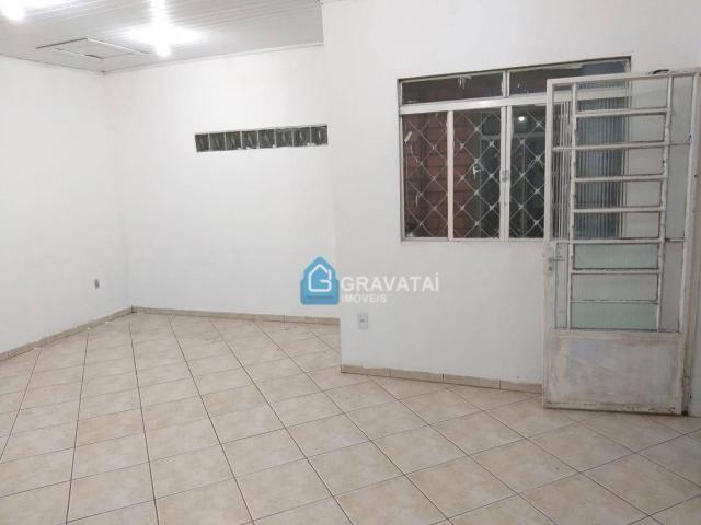 Apartamento com 1 dormitório para alugar, 120 m² por R$ 1.000/mês - Centro - Gravataí/RS - Foto 8