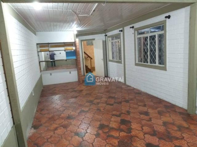 Apartamento com 1 dormitório para alugar, 120 m² por R$ 1.000/mês - Centro - Gravataí/RS - Foto 2