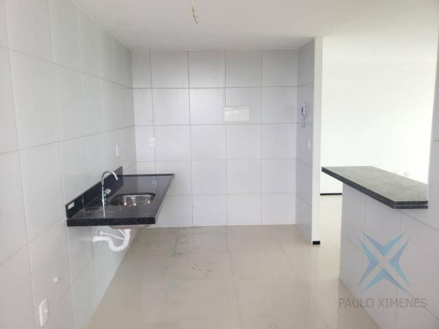 Apartamento novo com 3 dormitórios para alugar, 81 m² por r$ 1.700/mês - engenheiro lucian - Foto 10