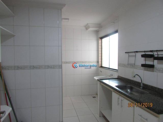 Apartamento com 3 dormitórios para alugar, 60 m² por r$ 1.100,00 - jardim são carlos - sum - Foto 5