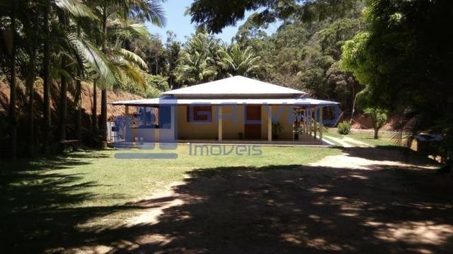 JG. Sítio de 234 mil m² com casa de 3 quartos com suíte em Marechal Floriano! - Foto 2