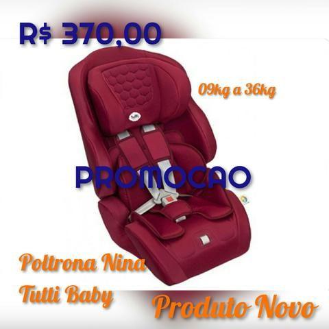 Poltrona Nina Tutti Baby , 09 a 36Kg Para uso ate os 7 anos