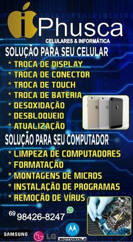Display iphone 6 130 instalado