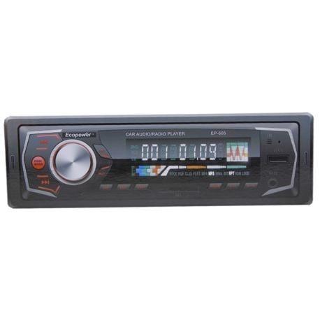 Toca Rádio Ecopower EP-605 - Bluetooth - Usb - Sd Promoção - Foto 2