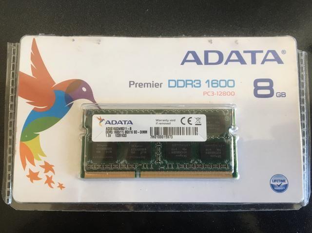 Memória DDR3 8gb