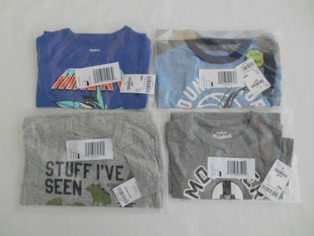 Kit 6 camisas da marca Carter,s e oshkosh - Foto 4