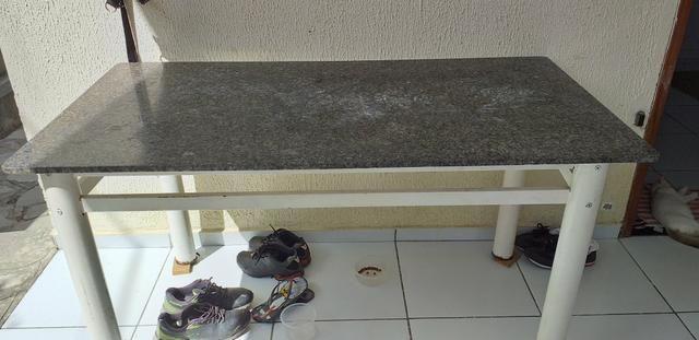 Mesa de mármore novíssima - Foto 2
