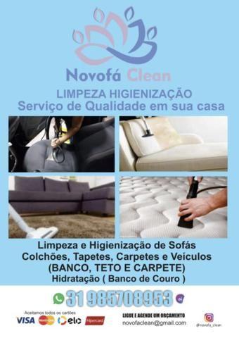 Limpeza e higienização a seco Ipatinga e região - Foto 2